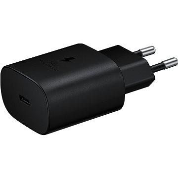 Samsung Napájecí adaptér s rychlonabíjením 25W černý, bez kabelu v balení - Nabíječka do sítě