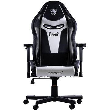 Sades Orion White - Herní židle