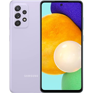 Samsung Galaxy A52 5G fialová - Mobilní telefon