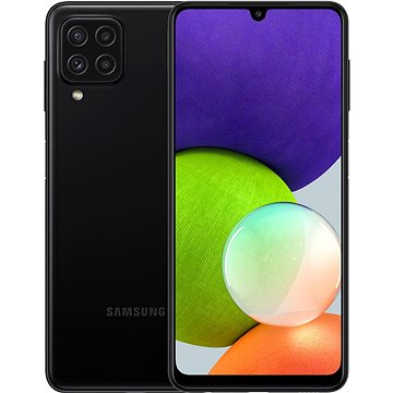 Samsung Galaxy A22 64GB černá - Mobilní telefon