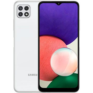 Samsung Galaxy A22 5G 128GB bílá - Mobilní telefon