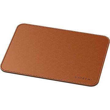 Satechi Eco Leather Mouse Pad - Brown - Podložka pod myš