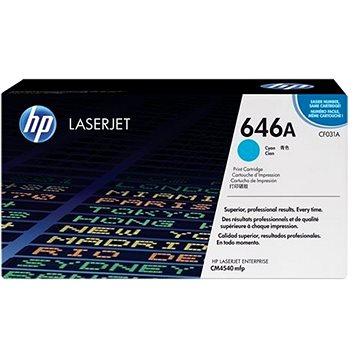 HP CF031A č. 646A azurový - Toner