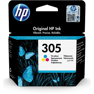 HP 3YM60AE č. 305 barevná - Cartridge