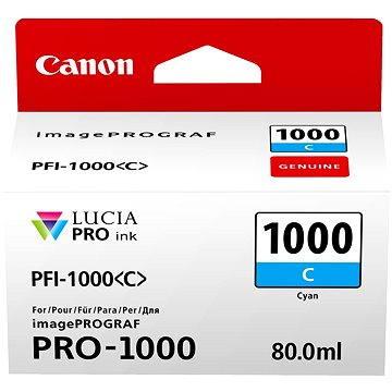 Canon PFI-1000C azurová - Cartridge