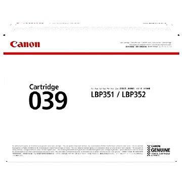 Canon CRG-039 černý - Toner