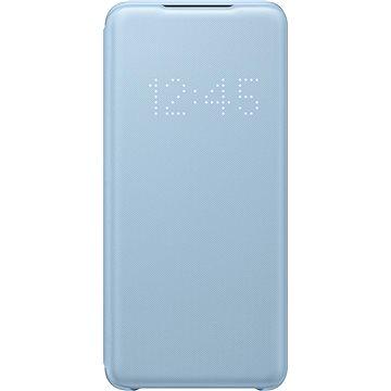 Samsung  Flipové pouzdro LED View pro Galaxy S20 modré - Pouzdro na mobil