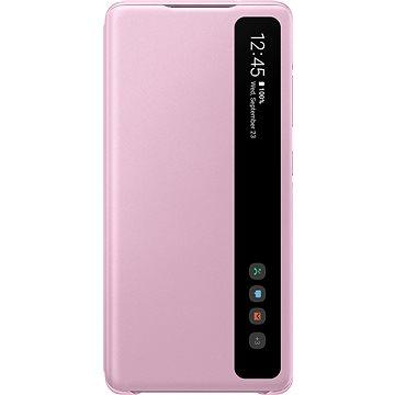 Samsung Galaxy S20 FE Flipové pouzdro Clear View fialové - Pouzdro na mobil