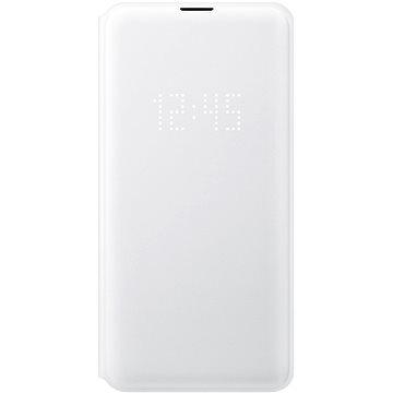 Samsung Galaxy S10e LED View Cover bílý - Pouzdro na mobil