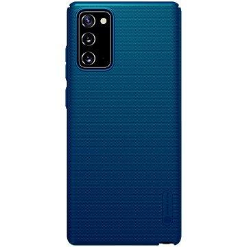 Nillkin Frosted zadní kryt pro Samsung Galaxy Note 20 Peacock Blue - Kryt na mobil