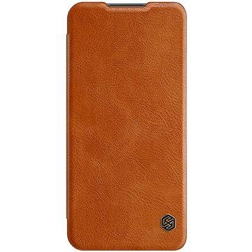 Nillkin Qin kožené pouzdro pro Xiaomi Redmi 9 Brown - Pouzdro na mobil