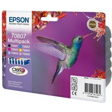 Epson T0807 multipack - Cartridge