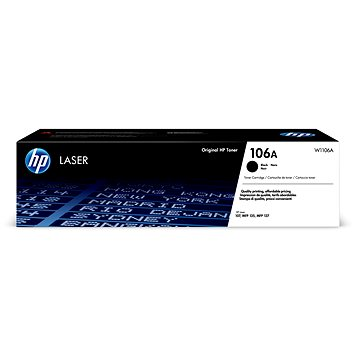 HP W1106A č. 106A černý - Toner