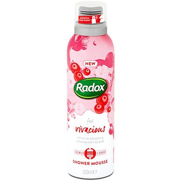 RADOX Feel Vivacious Shower Foam 200 ml - Sprchová pěna