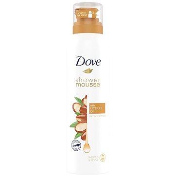 DOVE Argan Oil Shower Mousse 200 ml - Sprchová pěna