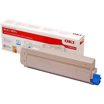 OKI 45862816 azurový - Toner