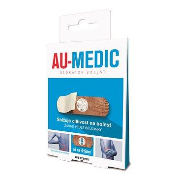 AU-MEDIC blokátor bolesti 4ks - Zdravotnický prostředek