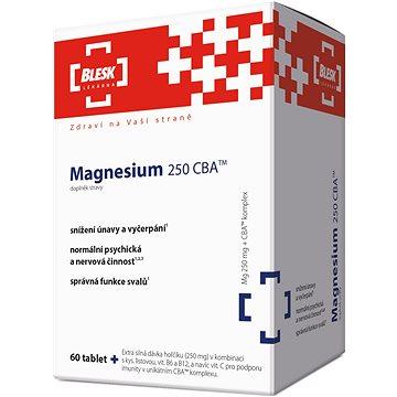 BLESK Magnesium 250 CBA tbl.60 - Hořčík