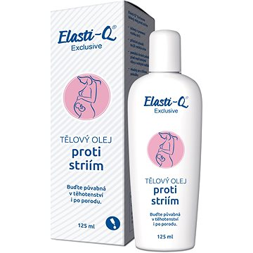 Elasti-Q Exclusive tělový olej proti striím 125ml - Olej