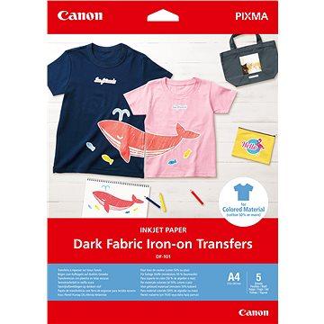 Canon Dark Fabric Iron-On DF-101 A4 - Fotopapír