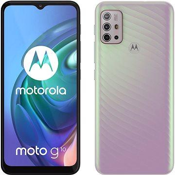 Motorola Moto G10 perleťová - Mobilní telefon