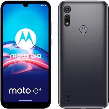 Motorola Moto E6i šedá - Mobilní telefon