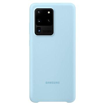 Samsung  Silikonový zadní kryt pro Galaxy S20 Ultra modrý - Kryt na mobil