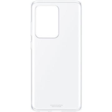 Samsung  Průhledný zadní kryt pro Galaxy S20 Ultra průhledný - Kryt na mobil