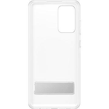 Samsung zadní kryt se stojánkem pro Galaxy A72 transparentní - Kryt na mobil