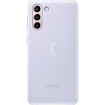Samsung Zadní kryt s LED diodami pro Galaxy S21+ bílý - Kryt na mobil