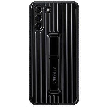 Samsung Protective Standing Kryt pro Galaxy S21+ Black - Kryt na mobil