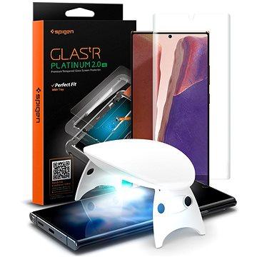 Spigen tR Platinum Glass Samsung Galaxy Note20 Ultra - Ochranné sklo