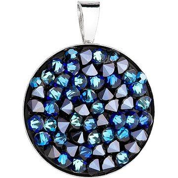 EVOLUTION GROUP 34250.5 bermuda blue s krystaly Swarovski® (Ag925/1000, 2,5 g) - Přívěsek