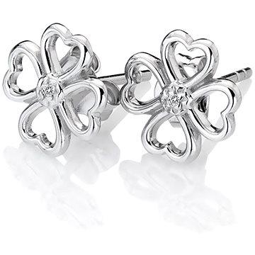 HOT DIAMONDS Lucky in Love DE632 (Ag 925/1000, 1,38 g) - Náušnice