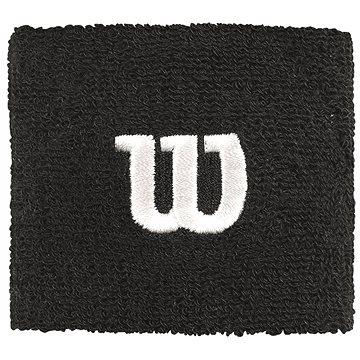 Wilson W Wristband Black - Potítko