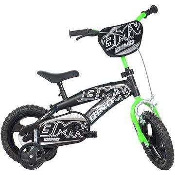 Dino Bikes 12 black/green - Dětské kolo