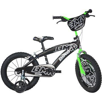 Dino Bikes 16 black/green - Dětské kolo