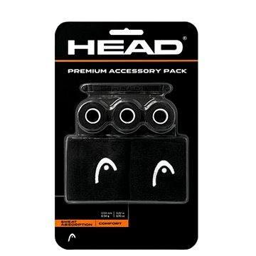 Head Accessory Premium Pack black - Tenisová omotávka