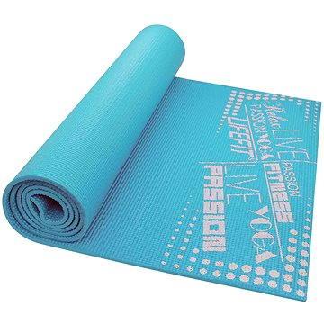 Lifefit Slimfit gymnastická světle tyrkysová - Podložka na cvičení