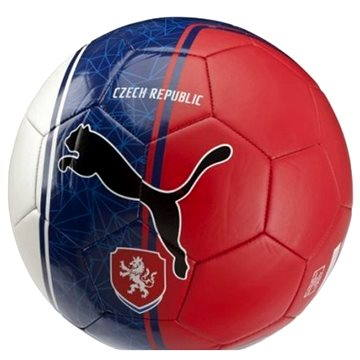 PUMA Country Fan Balls Licensed white/blue vel. 5 - Fotbalový míč
