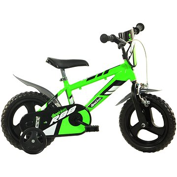 Dino bikes 12 green R88 - Dětské kolo