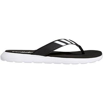 Adidas Comfort černá/bílá EU 46 / 284 mm - Žabky