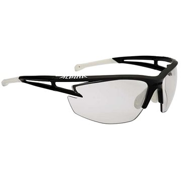 Alpina Eye-5 HR VL+ blackmatt-white - Cyklistické brýle