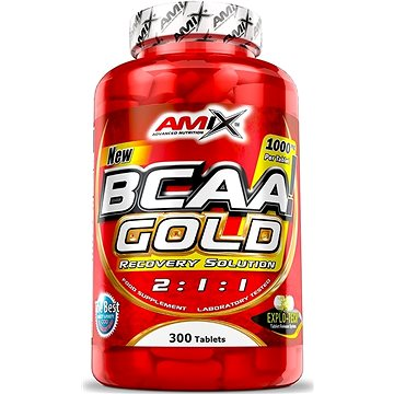 Amix Nutrition BCAA gold, 300 kapslí - Aminokyseliny