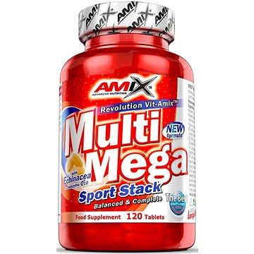 Amix Nutrition Multi Mega Stack, 120 tablet - Vitamín