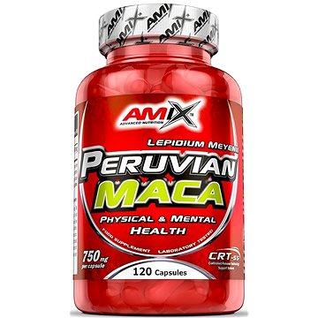 Amix Nutrition Peruvian Maca 750mg, 120 kapslí - Anabolizér