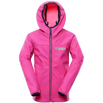 Alpine Pro Nootko 11 růžová vel. 104-110 cm - Bunda