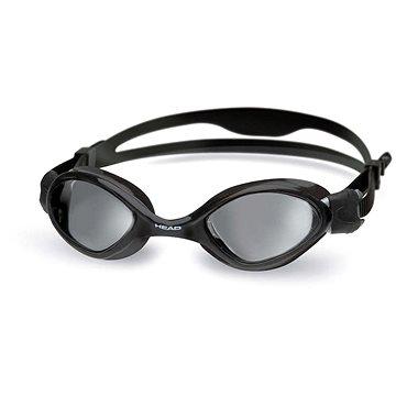 Head Tiger, černá, tmavý zorník - Plavecké brýle