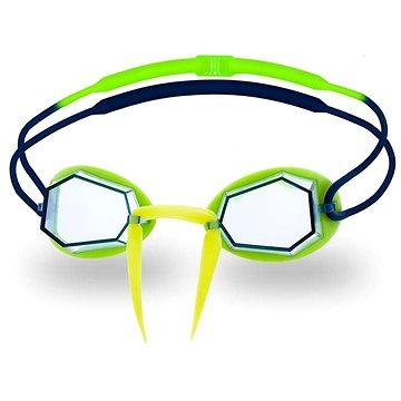 Head Diamond, modrá/lime - Plavecké brýle