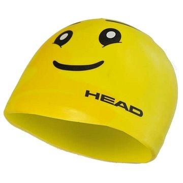 Head Silicone Sketch junior, yellow face - Plavecká čepice